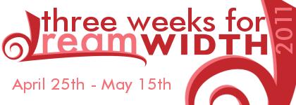 Three Weeks for Dreamwidth
